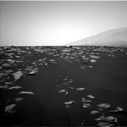 Nasa's Mars rover Curiosity acquired this image using its Left Navigation Camera on Sol 1604, at drive 3192, site number 60