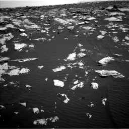 Nasa's Mars rover Curiosity acquired this image using its Left Navigation Camera on Sol 1604, at drive 3258, site number 60