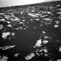 Nasa's Mars rover Curiosity acquired this image using its Left Navigation Camera on Sol 1604, at drive 3270, site number 60