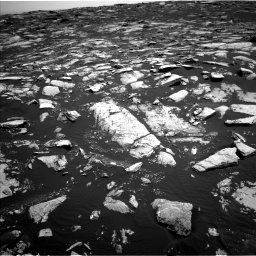 Nasa's Mars rover Curiosity acquired this image using its Left Navigation Camera on Sol 1604, at drive 3294, site number 60