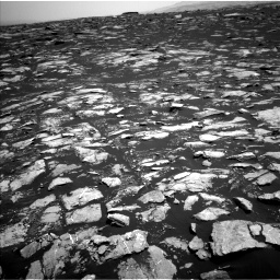 Nasa's Mars rover Curiosity acquired this image using its Left Navigation Camera on Sol 1604, at drive 3318, site number 60