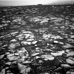 Nasa's Mars rover Curiosity acquired this image using its Left Navigation Camera on Sol 1604, at drive 3330, site number 60