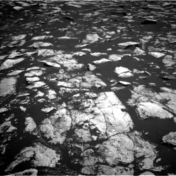 Nasa's Mars rover Curiosity acquired this image using its Left Navigation Camera on Sol 1604, at drive 3420, site number 60