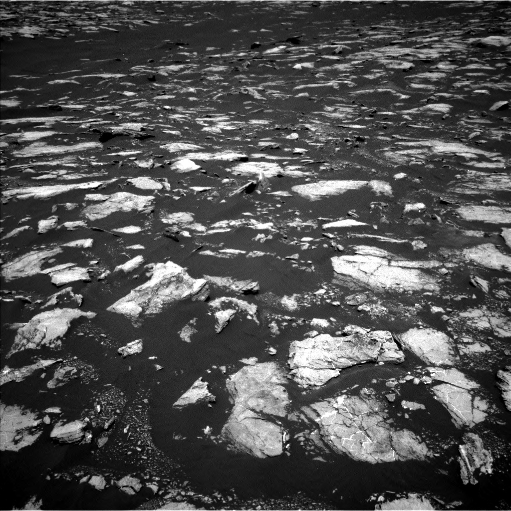 Nasa's Mars rover Curiosity acquired this image using its Left Navigation Camera on Sol 1604, at drive 3492, site number 60