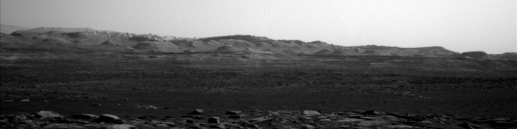 Nasa's Mars rover Curiosity acquired this image using its Left Navigation Camera on Sol 1604, at drive 0, site number 61