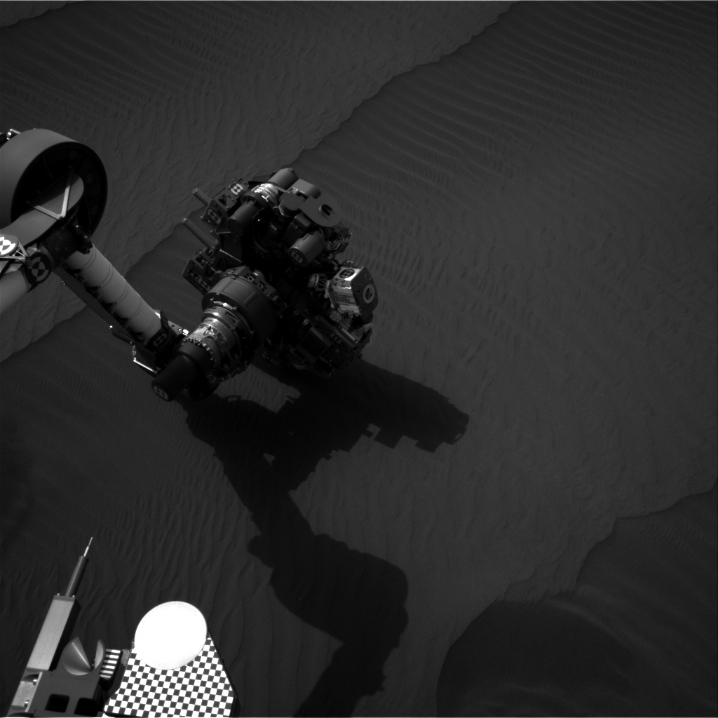 Nasa's Mars rover Curiosity acquired this image using its Right Navigation Camera on Sol 1604, at drive 3162, site number 60