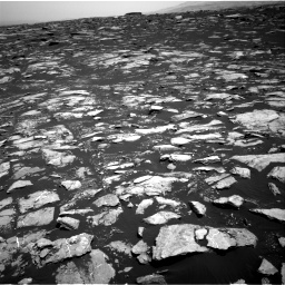 Nasa's Mars rover Curiosity acquired this image using its Right Navigation Camera on Sol 1604, at drive 3318, site number 60