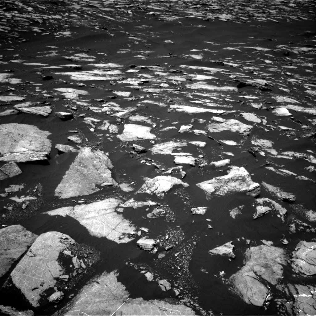 Nasa's Mars rover Curiosity acquired this image using its Right Navigation Camera on Sol 1604, at drive 3492, site number 60