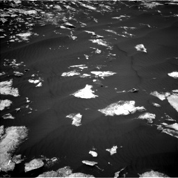 Nasa's Mars rover Curiosity acquired this image using its Left Navigation Camera on Sol 1605, at drive 30, site number 61