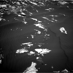 Nasa's Mars rover Curiosity acquired this image using its Left Navigation Camera on Sol 1605, at drive 42, site number 61