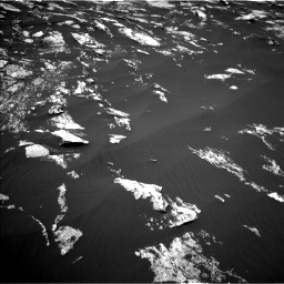 Nasa's Mars rover Curiosity acquired this image using its Left Navigation Camera on Sol 1605, at drive 60, site number 61