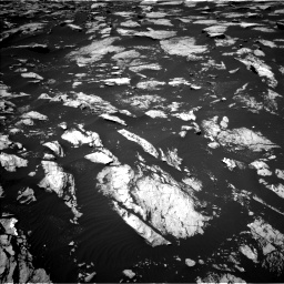 Nasa's Mars rover Curiosity acquired this image using its Left Navigation Camera on Sol 1605, at drive 90, site number 61