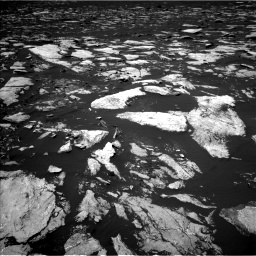Nasa's Mars rover Curiosity acquired this image using its Left Navigation Camera on Sol 1605, at drive 150, site number 61