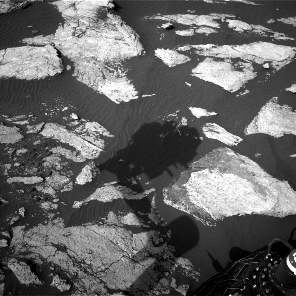 Nasa's Mars rover Curiosity acquired this image using its Left Navigation Camera on Sol 1605, at drive 156, site number 61