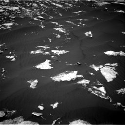 Nasa's Mars rover Curiosity acquired this image using its Right Navigation Camera on Sol 1605, at drive 30, site number 61