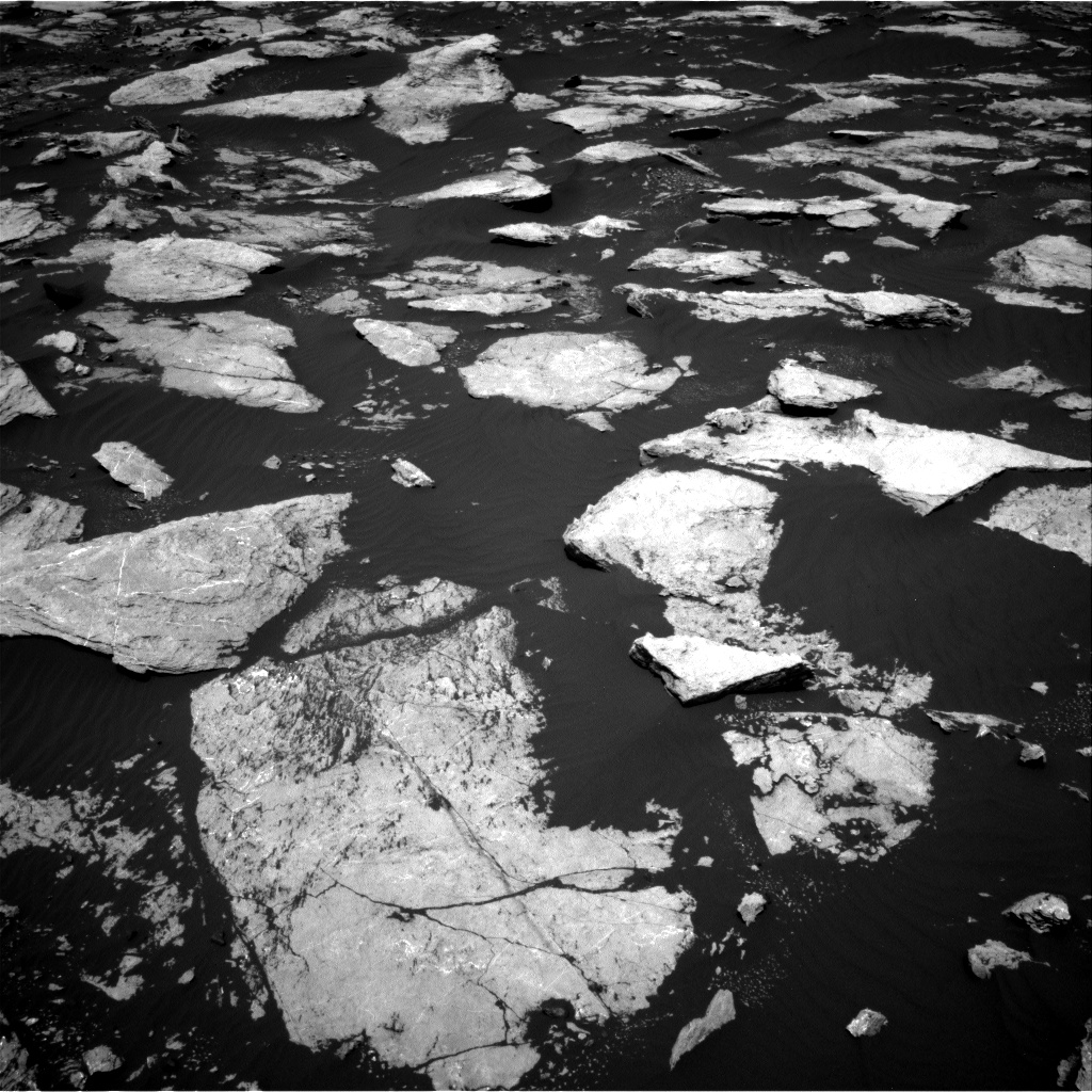 Nasa's Mars rover Curiosity acquired this image using its Right Navigation Camera on Sol 1605, at drive 126, site number 61