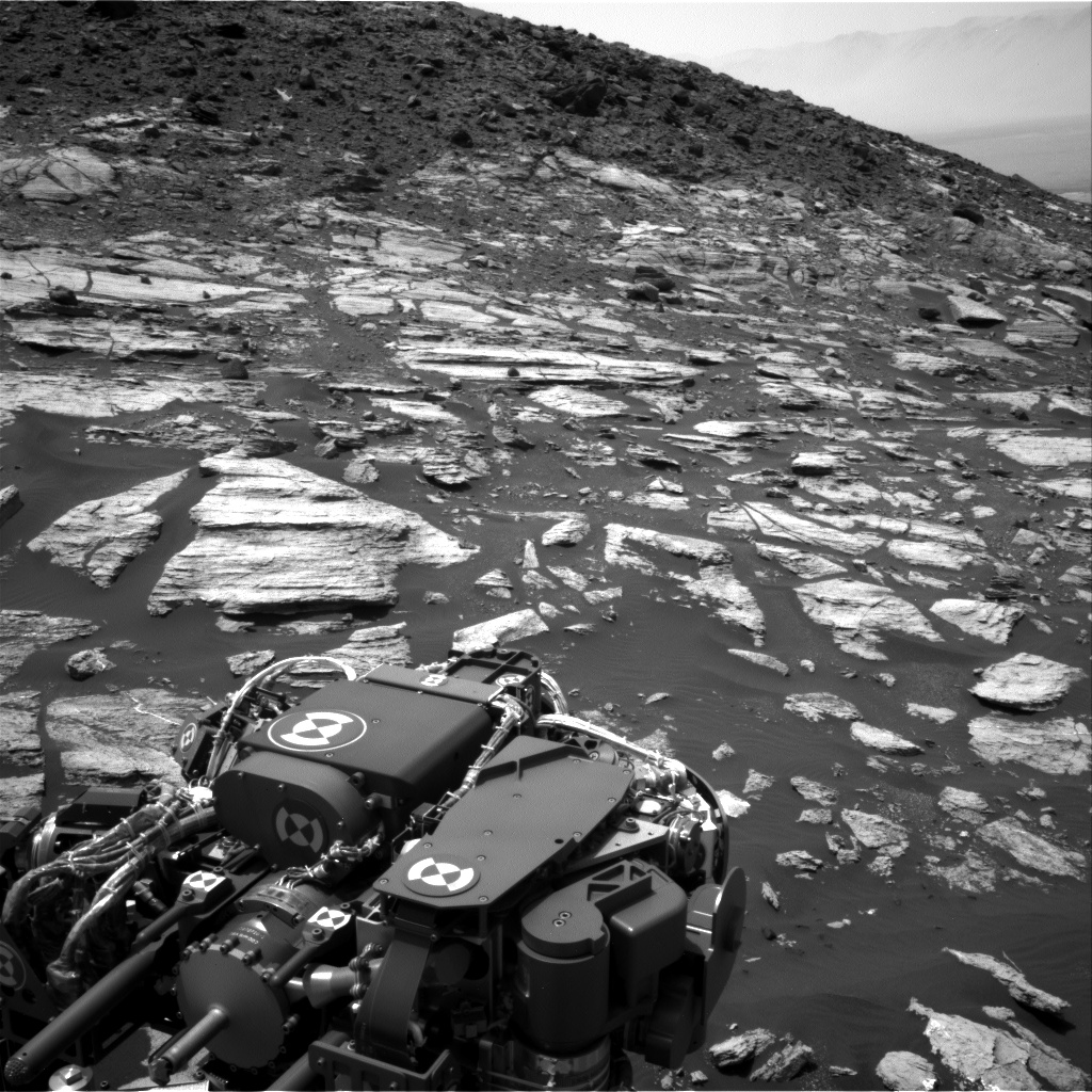 Nasa's Mars rover Curiosity acquired this image using its Right Navigation Camera on Sol 1605, at drive 156, site number 61
