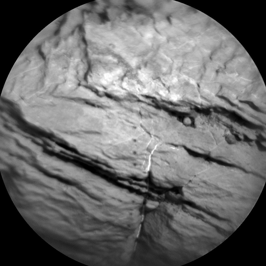 Nasa's Mars rover Curiosity acquired this image using its Chemistry & Camera (ChemCam) on Sol 1605, at drive 0, site number 61