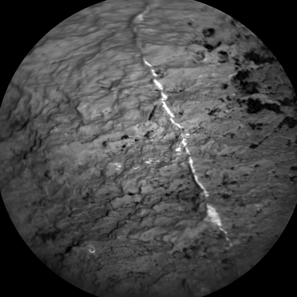 Nasa's Mars rover Curiosity acquired this image using its Chemistry & Camera (ChemCam) on Sol 1605, at drive 156, site number 61