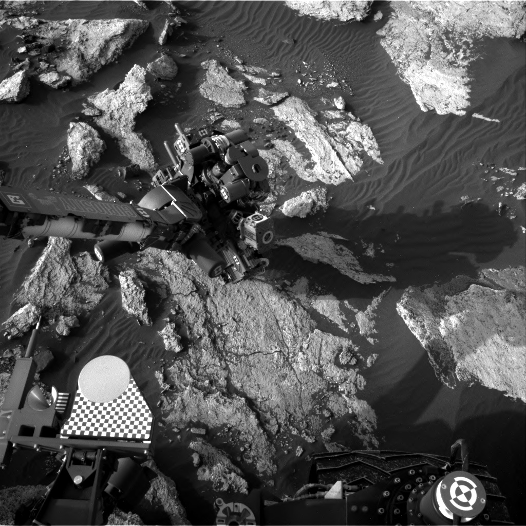 Nasa's Mars rover Curiosity acquired this image using its Right Navigation Camera on Sol 1606, at drive 156, site number 61