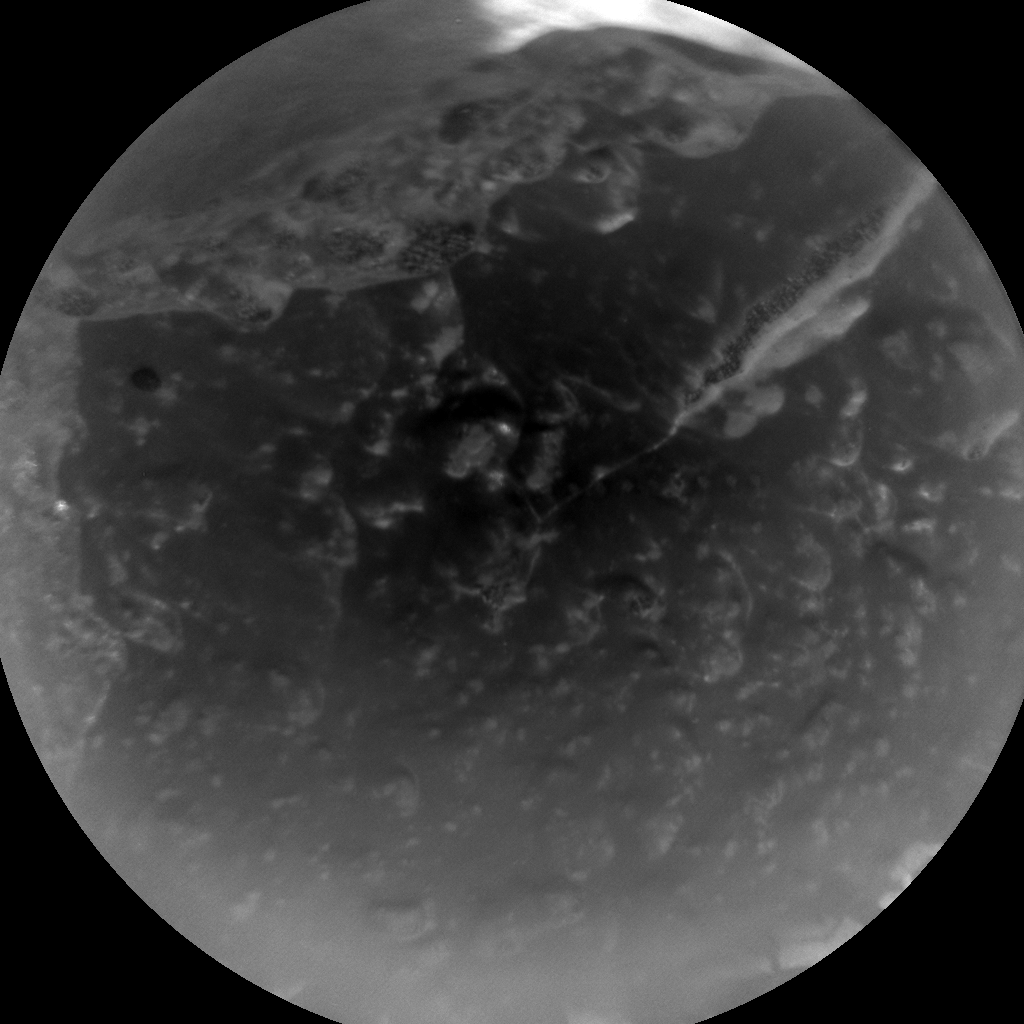 Nasa's Mars rover Curiosity acquired this image using its Chemistry & Camera (ChemCam) on Sol 1606, at drive 156, site number 61