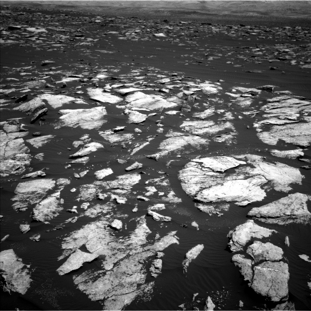 Nasa's Mars rover Curiosity acquired this image using its Left Navigation Camera on Sol 1608, at drive 186, site number 61