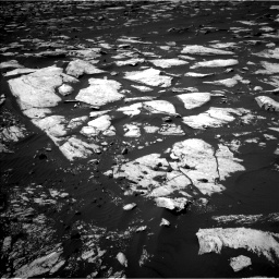 Nasa's Mars rover Curiosity acquired this image using its Left Navigation Camera on Sol 1608, at drive 198, site number 61