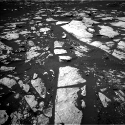 Nasa's Mars rover Curiosity acquired this image using its Left Navigation Camera on Sol 1608, at drive 210, site number 61