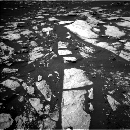 Nasa's Mars rover Curiosity acquired this image using its Left Navigation Camera on Sol 1608, at drive 216, site number 61