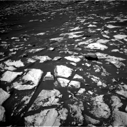 Nasa's Mars rover Curiosity acquired this image using its Left Navigation Camera on Sol 1608, at drive 240, site number 61