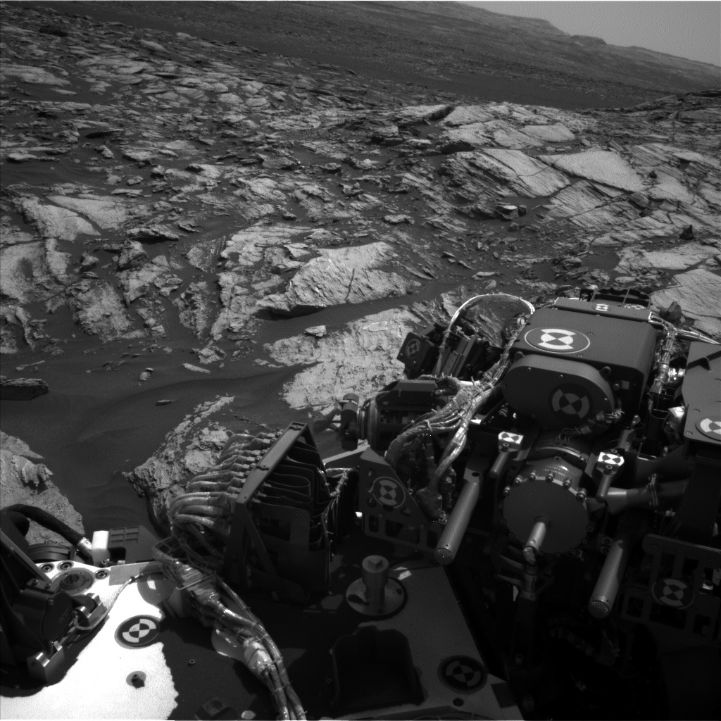 Nasa's Mars rover Curiosity acquired this image using its Left Navigation Camera on Sol 1608, at drive 252, site number 61