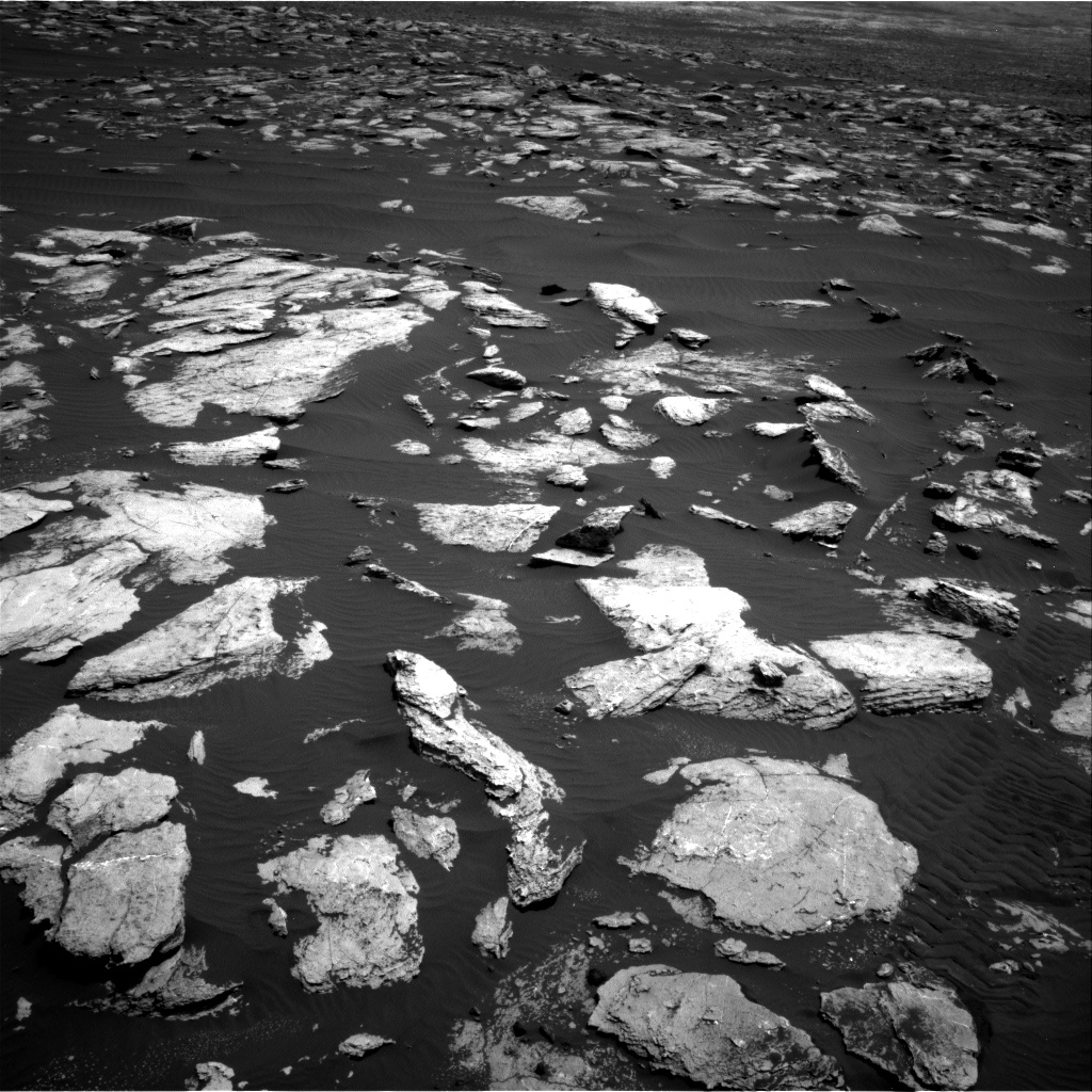 Nasa's Mars rover Curiosity acquired this image using its Right Navigation Camera on Sol 1608, at drive 186, site number 61