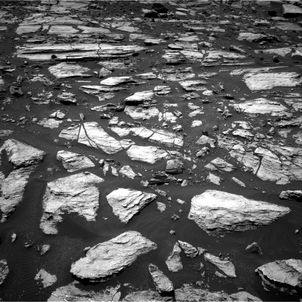 Nasa's Mars rover Curiosity acquired this image using its Right Navigation Camera on Sol 1608, at drive 216, site number 61