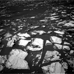 Nasa's Mars rover Curiosity acquired this image using its Right Navigation Camera on Sol 1608, at drive 246, site number 61