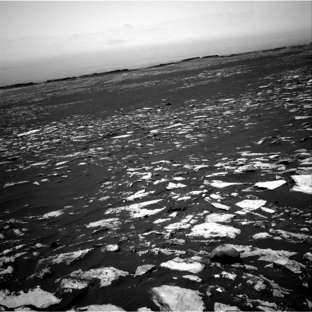 Nasa's Mars rover Curiosity acquired this image using its Right Navigation Camera on Sol 1608, at drive 252, site number 61