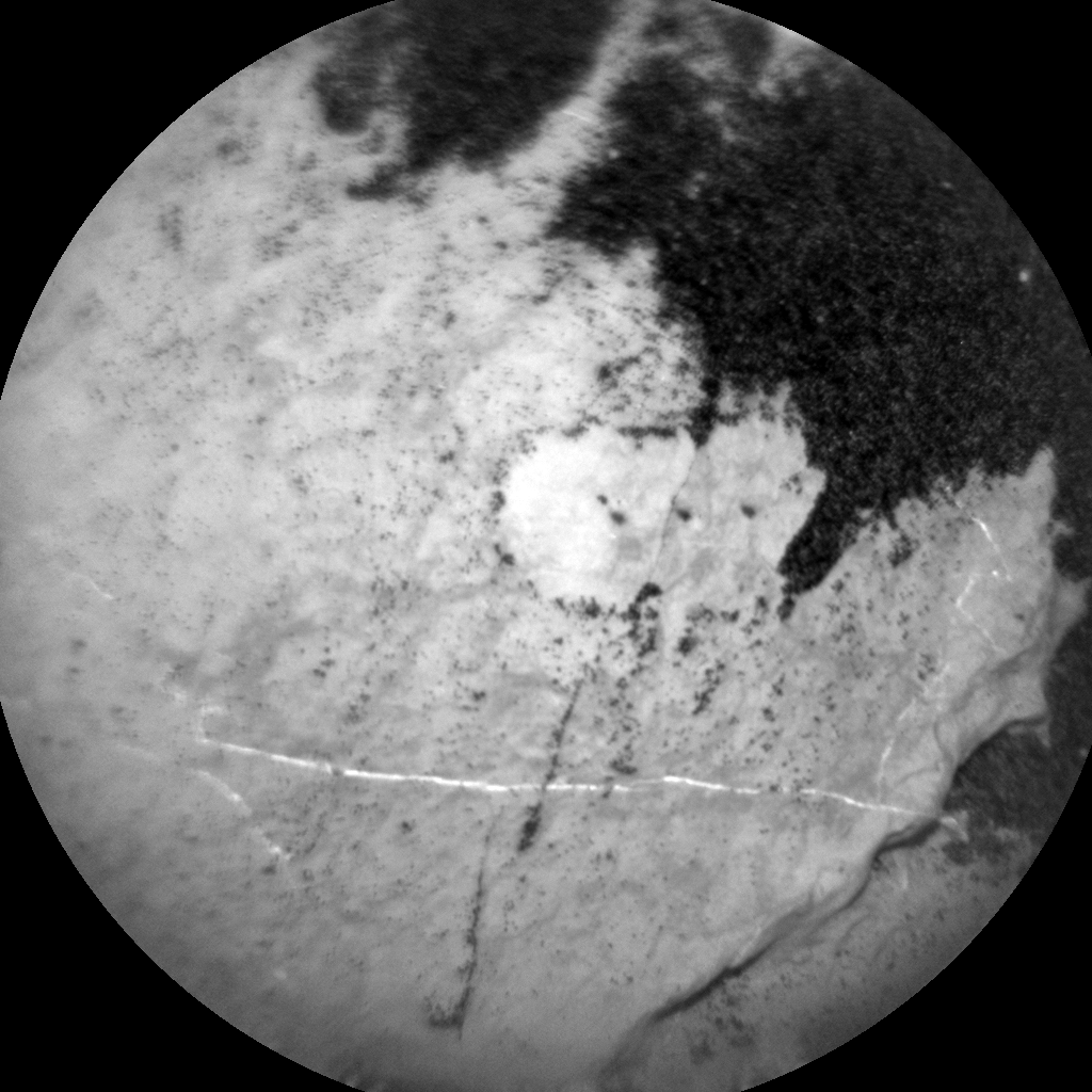 Nasa's Mars rover Curiosity acquired this image using its Chemistry & Camera (ChemCam) on Sol 1608, at drive 156, site number 61