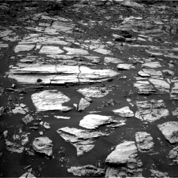Nasa's Mars rover Curiosity acquired this image using its Left Navigation Camera on Sol 1610, at drive 264, site number 61