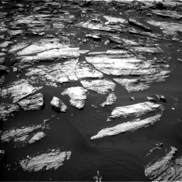 Nasa's Mars rover Curiosity acquired this image using its Left Navigation Camera on Sol 1610, at drive 324, site number 61