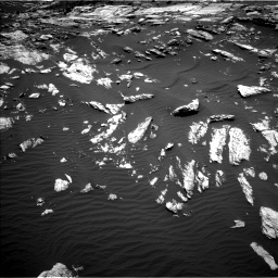 Nasa's Mars rover Curiosity acquired this image using its Left Navigation Camera on Sol 1610, at drive 402, site number 61