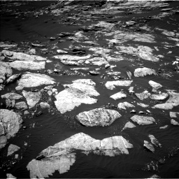 Nasa's Mars rover Curiosity acquired this image using its Left Navigation Camera on Sol 1610, at drive 444, site number 61