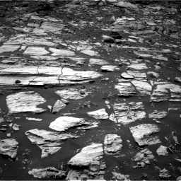 Nasa's Mars rover Curiosity acquired this image using its Right Navigation Camera on Sol 1610, at drive 264, site number 61