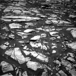 Nasa's Mars rover Curiosity acquired this image using its Right Navigation Camera on Sol 1610, at drive 270, site number 61