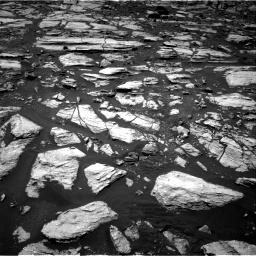 Nasa's Mars rover Curiosity acquired this image using its Right Navigation Camera on Sol 1610, at drive 282, site number 61