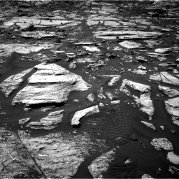 Nasa's Mars rover Curiosity acquired this image using its Right Navigation Camera on Sol 1610, at drive 294, site number 61