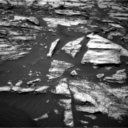 NASA's Mars rover Curiosity acquired this image using its Right Navigation Cameras (Navcams) on Sol 1610