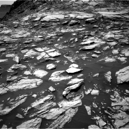 Nasa's Mars rover Curiosity acquired this image using its Right Navigation Camera on Sol 1610, at drive 348, site number 61