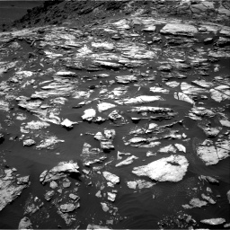 Nasa's Mars rover Curiosity acquired this image using its Right Navigation Camera on Sol 1610, at drive 372, site number 61