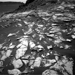 Nasa's Mars rover Curiosity acquired this image using its Right Navigation Camera on Sol 1610, at drive 384, site number 61