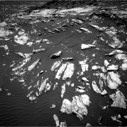 Nasa's Mars rover Curiosity acquired this image using its Right Navigation Camera on Sol 1610, at drive 396, site number 61