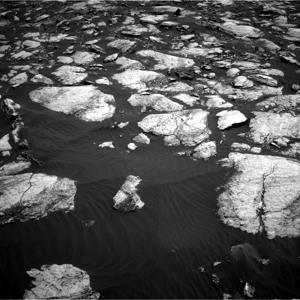 Nasa's Mars rover Curiosity acquired this image using its Right Navigation Camera on Sol 1610, at drive 414, site number 61